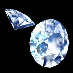 3d model diamond precious stone