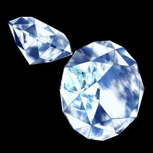 diamond precious stone 3ds