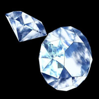 3ds max diamond precious stone