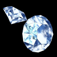 diamond precious stone 3ds