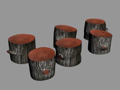 tree stump logs max