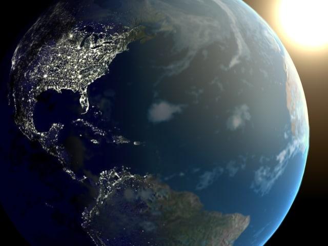 max earth night