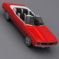 3d camaro ss 1969 model