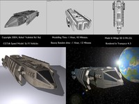 free freighter 3d model