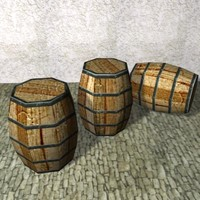 Wood Barrel K004