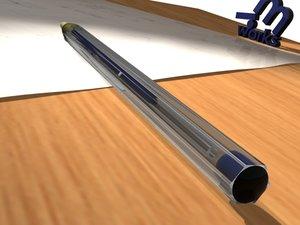 3d model bic pen