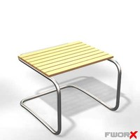 free stool chair furniture 3d model