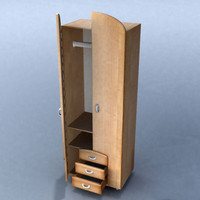 furniture cabinet 3d 3ds