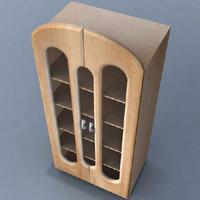 wardrobe furniture cabinet 3d lwo