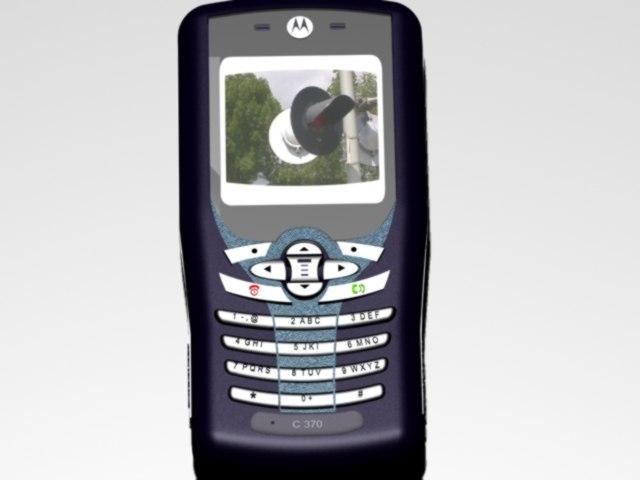 cellphone phone 3d model