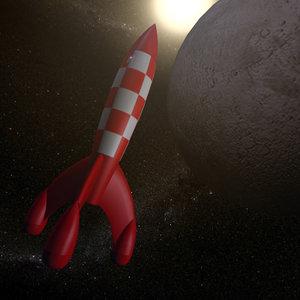 tintin rocket max