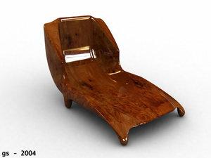3d necksmasher modern furniture model