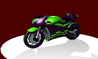 sportsbike munch bike 3d max