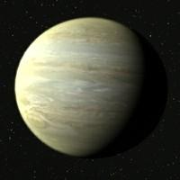 jupiter planet 3d max