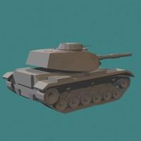 3d army m60a3 tank