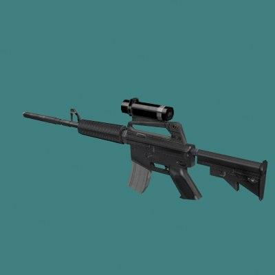 3ds m4 assault