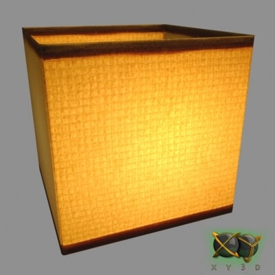 max fabric lamp shade