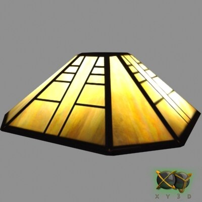 Max stained glass lamp shade 3d max stained glass lamp shade mozeypictures Image collections