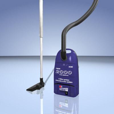 3d model of vacuum cleaner