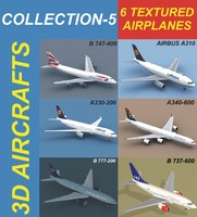 6 Textured Airplanes 5