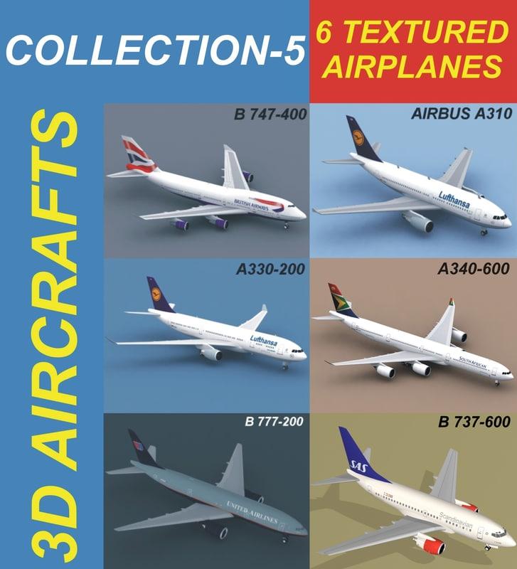 3d 6 airbus a310