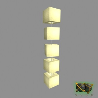 3d ikea hanging lamp brightness