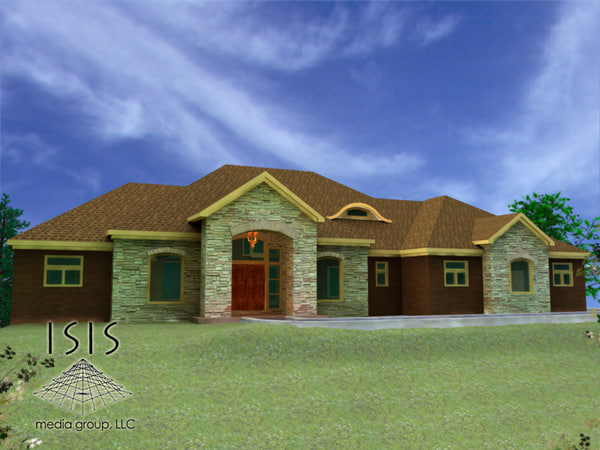 house level 3d model