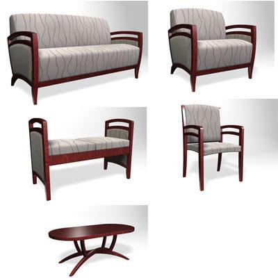bridgeport furniture 3d model