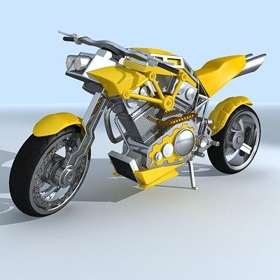 motobike 3d model