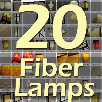 lamp fiber 3ds