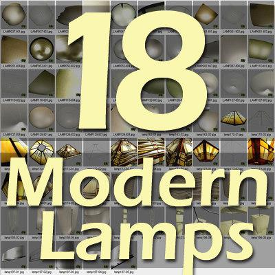 lamp glass metal 3d max