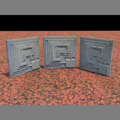 architectural block 3d max