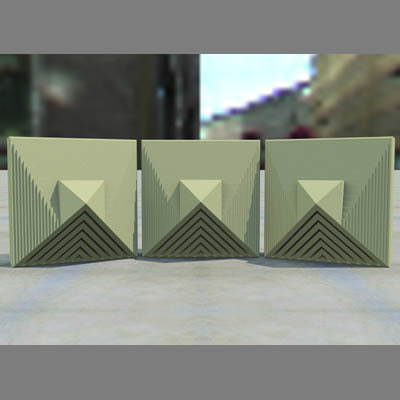 geometric block 3d lwo