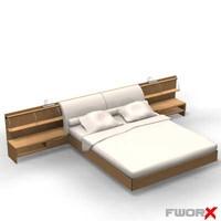 3dsmax bed furniture