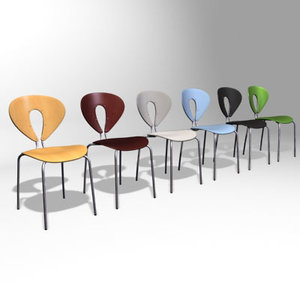 globus chair 3d model