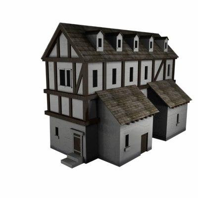house taverne 3d model