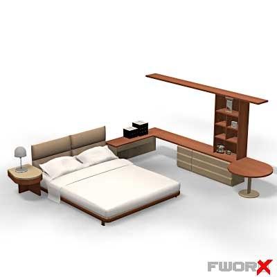 x bed