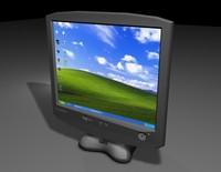 3dsmax proview lcd screen