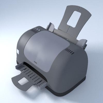 3d model inkjet printer