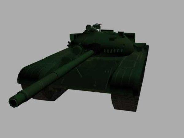 t 72 soviet tank 3d max