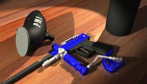 lightwave professional paintball gun
