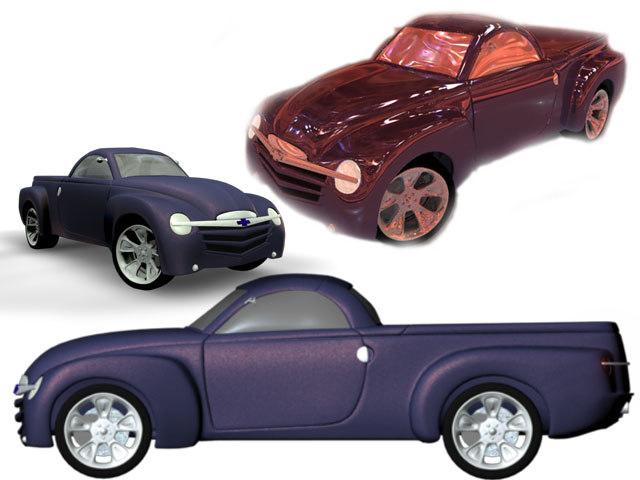 ssr roadster cars 3d model