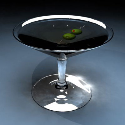 free ma model drink gin vermouth