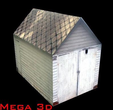garage building 3d