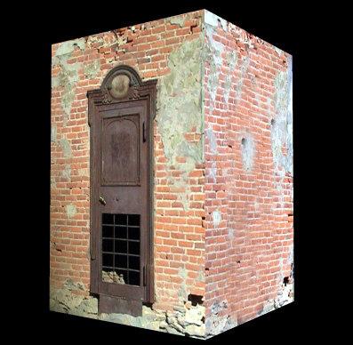 3ds max building bank vault