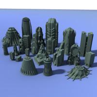troetensolo_futuristic_buildings_compilation01