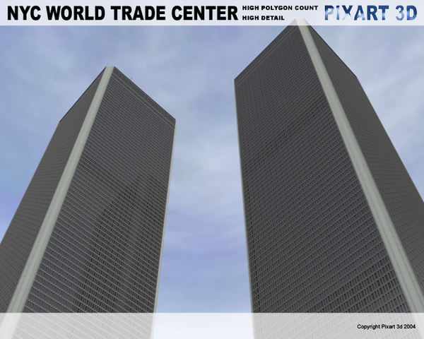 world trade center - 3d model