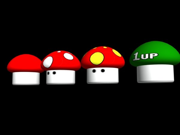 video mushrooms 3d 3ds
