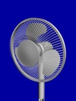 3d floor fan model