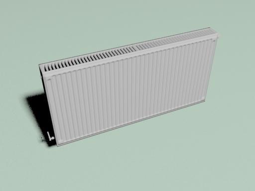 3d heater heating model